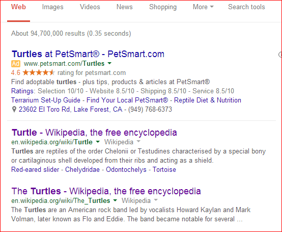 Why can't we ignore search results that we've already visited?